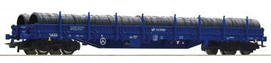 Roco 76590 PKP Cargo Rungenwagen beladen Ep.6