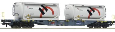 Roco 76943 SBB Cont.Tragw.+Holcim Tankcont.