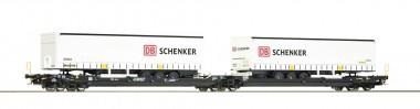 Roco 77390 Kombiverkehr Doppeltaschenwagen Ep.6