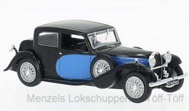 White Box WB123 Bugatti 57 Galibier blau/schwarz 1934
