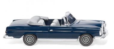Wiking 015301 MB 280 SE Cabrio stahlblau