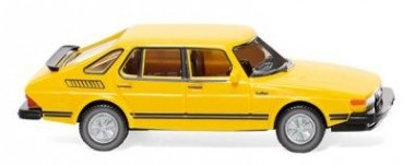 Wiking 021501 Saab 900 Turbo verkehrsgelb