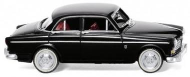 Wiking 022802 Volvo Amazon (4türig) schwarz