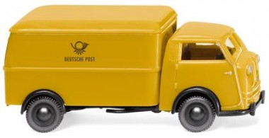 Wiking 033503 Tempo Matador Kasten Deutsche Post
