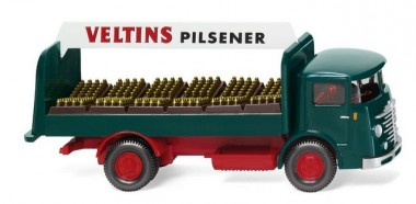 Wiking 047602 Büssing 4500 Getränke-Lkw Veltins