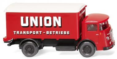 Wiking 047603 Büssing 4500 Koffer-Lkw Union Transporte