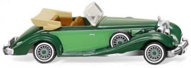 Wiking 083505 MB 540 K Cabrio kieferngrün/gelbgrün