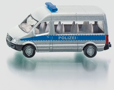 Siku 0804 MB Sprinter Bus HD Polizei