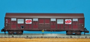 Trains 160 16013 SNCF gedeckte Güterwagen-Set 2-tlg Ep.5