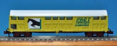 Trains 160 16018 SNCF gedeckter Güterwagen 4-achs Ep.5