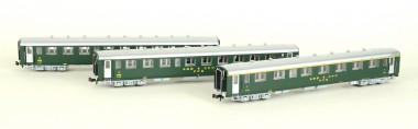 MW-Modell N-CH-210a SBB Personenwagen-Set 3-tlg Ep.3