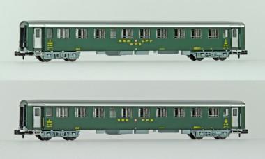 MW-Modell N-CH-211a SBB Liegewagen-Set 2-tlg Ep.3