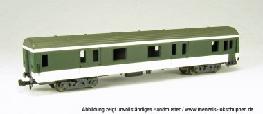 MW-Modell N-CH-305d BLS Gepäckwagen 4-achs Ep.5
