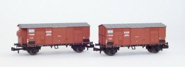 MW-Modell N-CH-404 SBB Spitzdachwagen-Set 2-tlg Ep.2