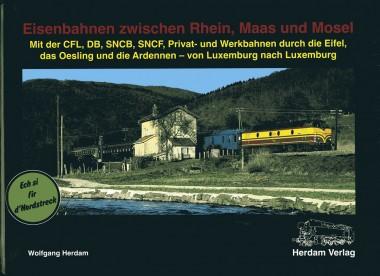 Herdam 17833 Eisenbahnen zwischen Rhein, Maas u Mosel