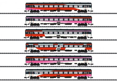 Trix 15389 NS Schnellzugwagen-Set 6-tlg. Ep.6