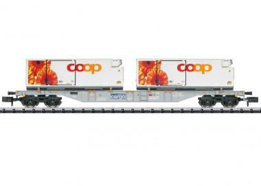 Trix 15491 SBB Containertragwagen 4-achs Ep.6