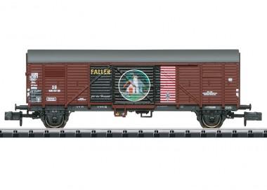 Trix 18021 DB Faller gedeckter Güterwagen Ep.3