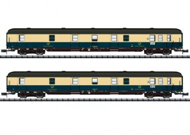 Trix 18201 DBP DB Postwagen-Set 2-tlg Ep.4