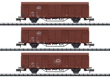 Trix 18902 DR Expressgut Güterwagen-Set  3-tlg Ep.4