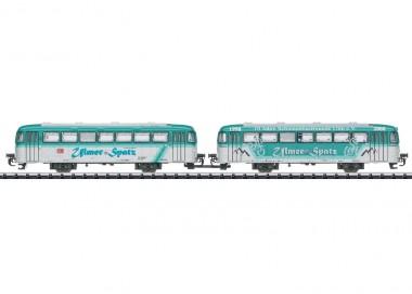Trix 18903 DB Beiwagen-Set VB 996 u. VB 998 Ep.6