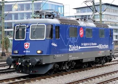 Trix 22666 SBB E-Lok Re 421 Ep.6