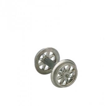 Brawa 2182 AC Speichenradsatz Spitzenlagerung