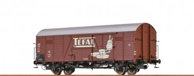 Brawa 48740 DB Tefal ged. Güterwagen 2-achs Ep.3