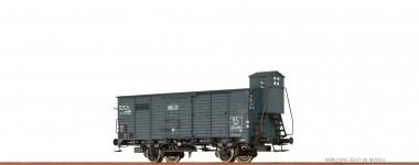 Brawa 67464 A.L. gedeckter Güterwagen Ep.2