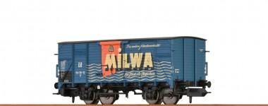 Brawa 67487 DR Milwa ged. Güterwagen 2-achs Ep.3