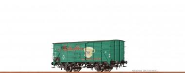 Brawa 67490 DB Melitta gedeckter Güterwagen Ep.3