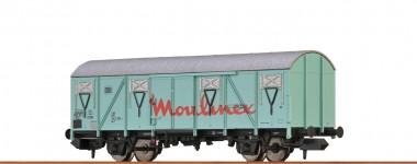 Brawa 67817 DB Moulinex ged. Güterwagen 2-achs Ep.4
