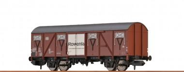 Brawa 67818 DB Rowenta ged. Güterwagen 2-achs Ep.4