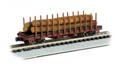 Bachmann USA 18351 Holzwagen 4-achs Ep.1/2