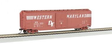 Bachmann USA 19409 WM gedeckter Güterwagen 50ft