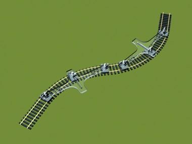 PROSES PFT-H0-01 Flexgleishalter Baugröße H0/00