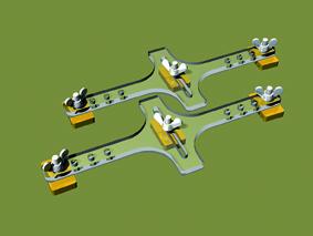 PROSES PFT-N-01 Flexgleishalter Baugröße N