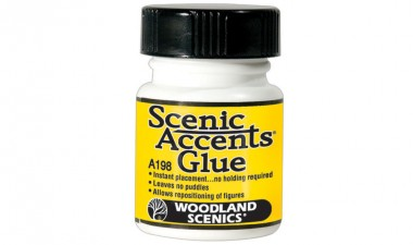 Woodland WA198 Scenic Accents Klebstoff ¼ oz.