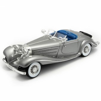 Maisto 36862S MB 500K silber 1936