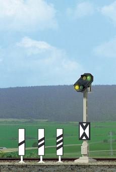 Busch 5823 DB Vorsignal mit LEDs