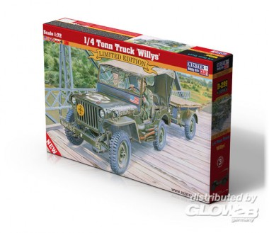 Glow2B 9385204299 1/4 Tonn Truck 'Willys'   Menzels ...  Glow2B 93852042...