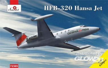 Glow2B AMO72365 HFB-320 Hansa Jet - Charter Express