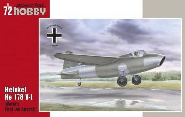 Glow2B SH72321 Heinkel He 178 V-1 First World Jet