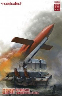Modelcollect UA72073 Germany WWII V1 Missile launcher
