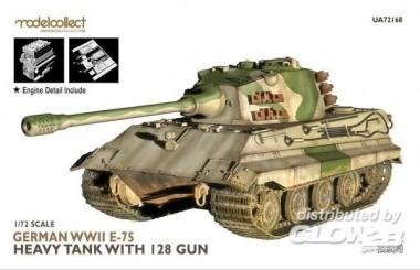 Modelcollect UA72168 German WWII E-75 heavy tank