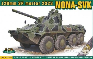 ACE 72169 NONA-SVK 120mmm SP mortar 2S23