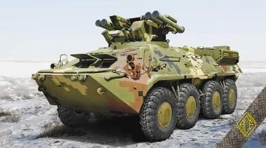 ACE 72176 BTR-3RK Ukrainian anti-tank vehicle