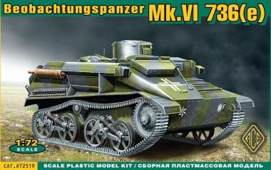 ACE 72519 Mk.VI 736(e) Beobachtungspanzer