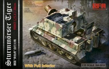 Rye Field Model RM-5012 Sturmmörser Tiger RM61 L/5,4 / 38 cm