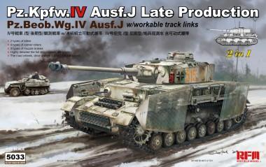 Rye Field Model RM-5033 Pz.Kpfw.IV Ausf.J Late Production